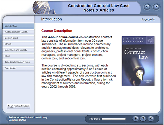 Construction Contract Law Case Notes Amp Articles