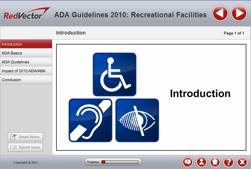 ADA Guidelines 2010: Recreational Facilities