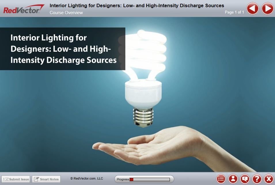 Interior Lighting for Designers: Low- and High-Intensity Discharge ...
